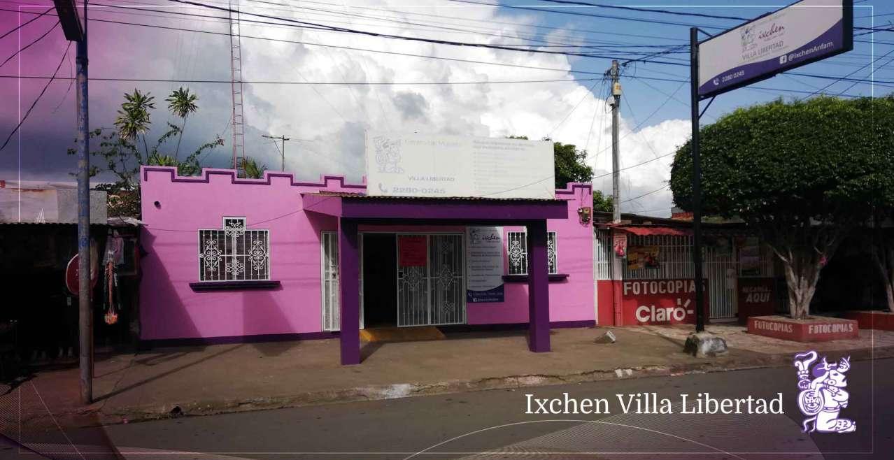 Centro de mujeres Ixchen Villa Libertad